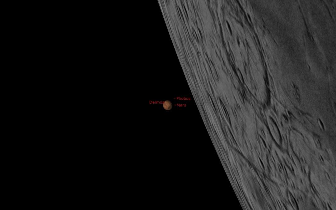 Driftless Dark Skies: Moon Occults Mars