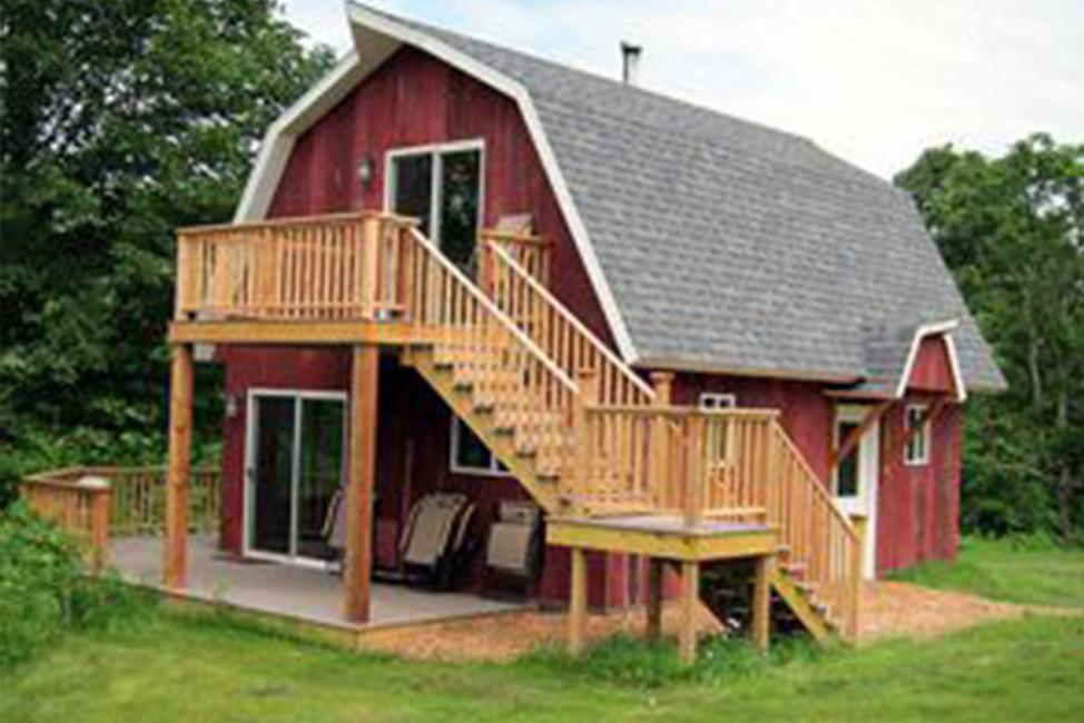 nature nooks barn cabin
