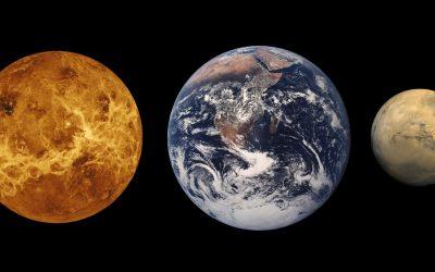 Driftless Dark Skies: Venus and Mars and Arrakis